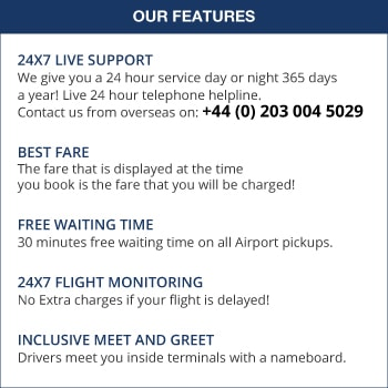 Airport Transfer Network Features